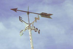 Foto Windrichtungsgeber